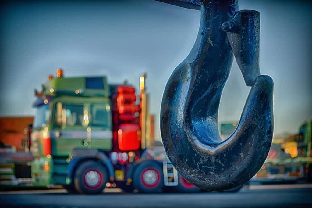 משאית מנוף