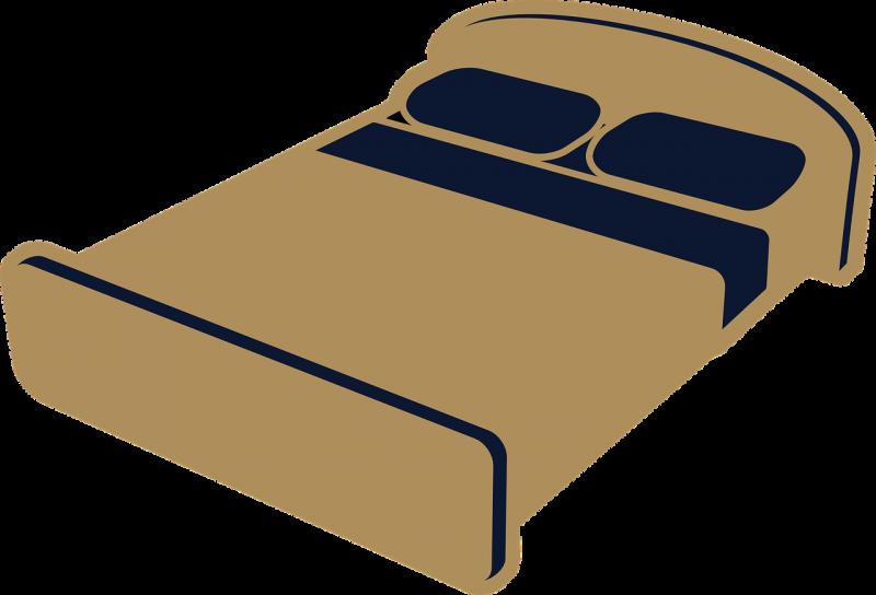 ציור של מיטה
